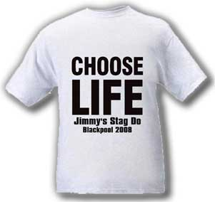Choose Life Stag T-Shirt