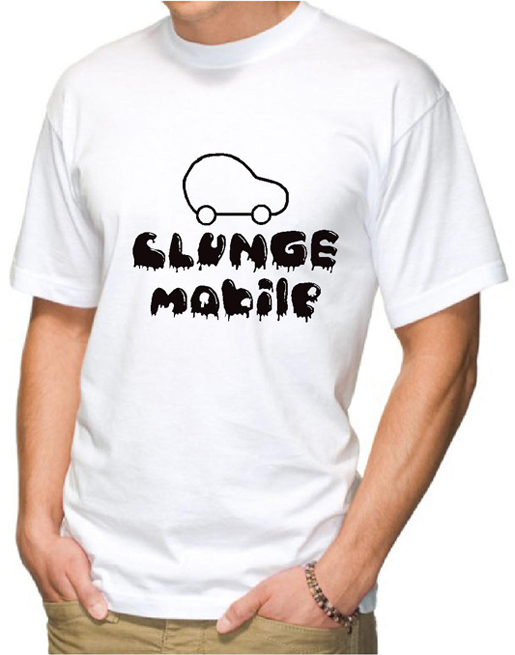 Clunge Mobile Funny T-Shirt