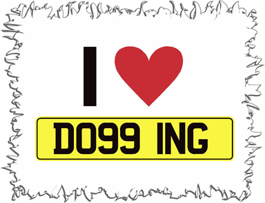 I Love Dogging 2 Funny T-Shirt
