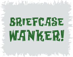 Briefcase Wanker Funny T-Shirt