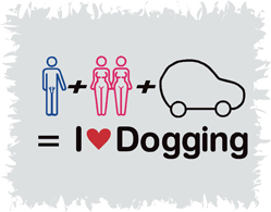 I Love Dogging Funny T-Shirt